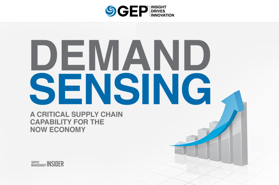 Demand Sensing: A Critical Supply Chain Capability for the Now Economy
