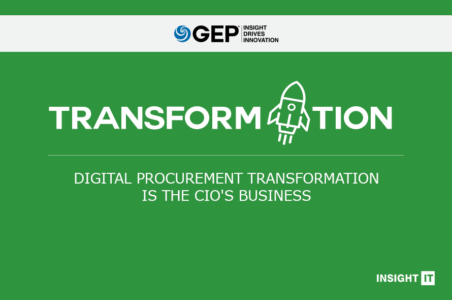 Digital Procurement Transformation Is the CIO's Business