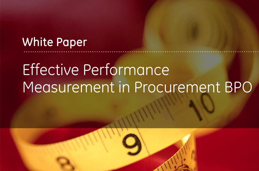 Effective Performance Measurement in Procurement BPO
