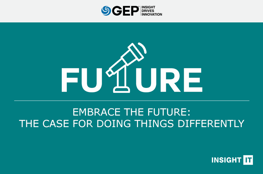 Embrace the Future: The Case for Doing Things Differently