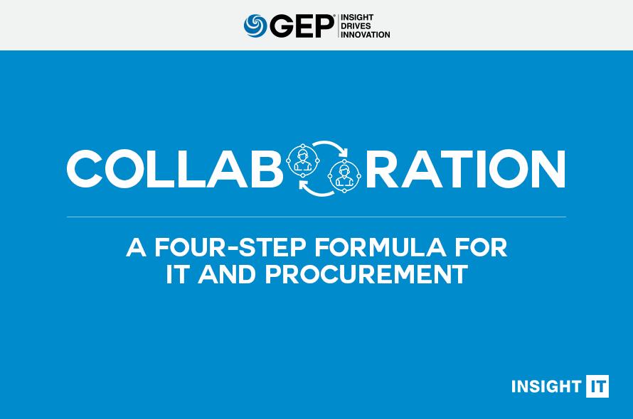 A Four-Step Formula for Better IT-Procurement Collaboration