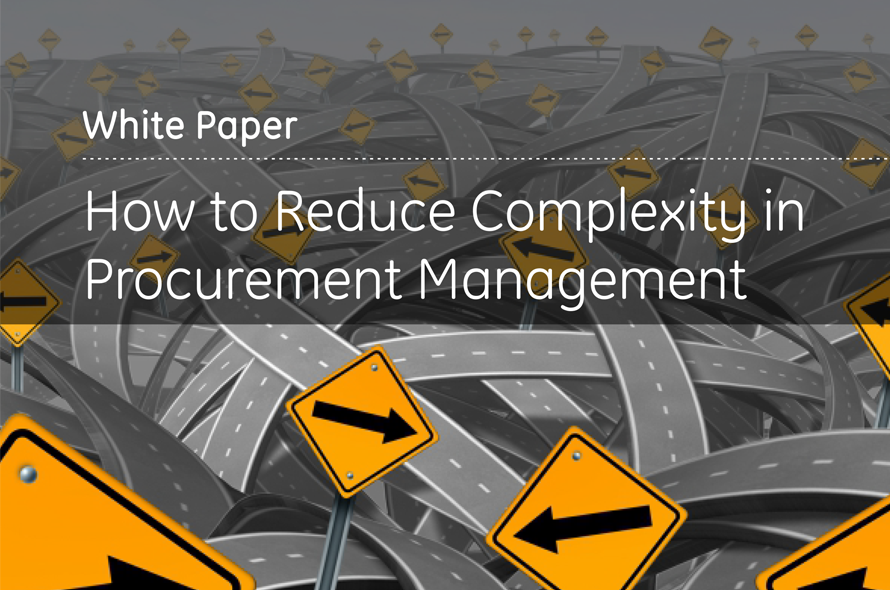 How to Reduce Complexity in Procurement Management