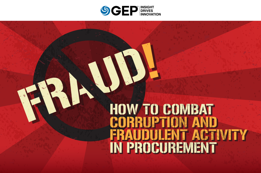 Fraud! How to Combat Corruption and Fraudulent Activity in Procurement