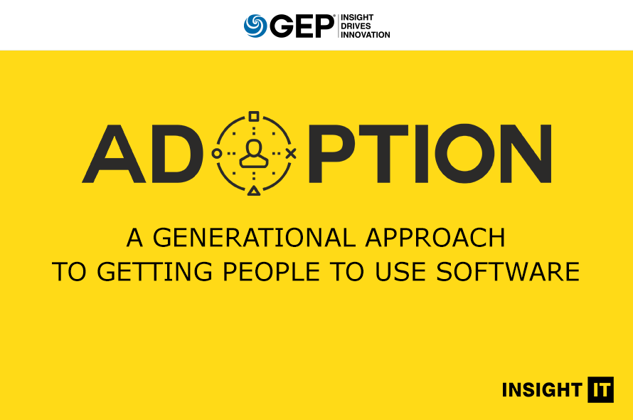 Adoption: A Generational Approach to Getting People to Use Software