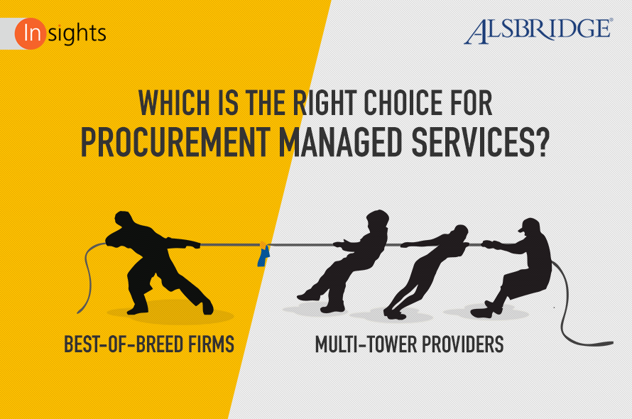 Procurement Outsourcing: Best-of-Breed Specialist Providers vs. Multi-Tower Firms
