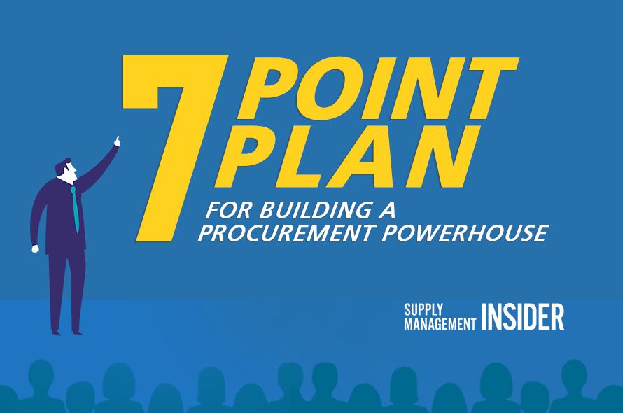 7 Point Plan For Building A Procurement Powerhouse