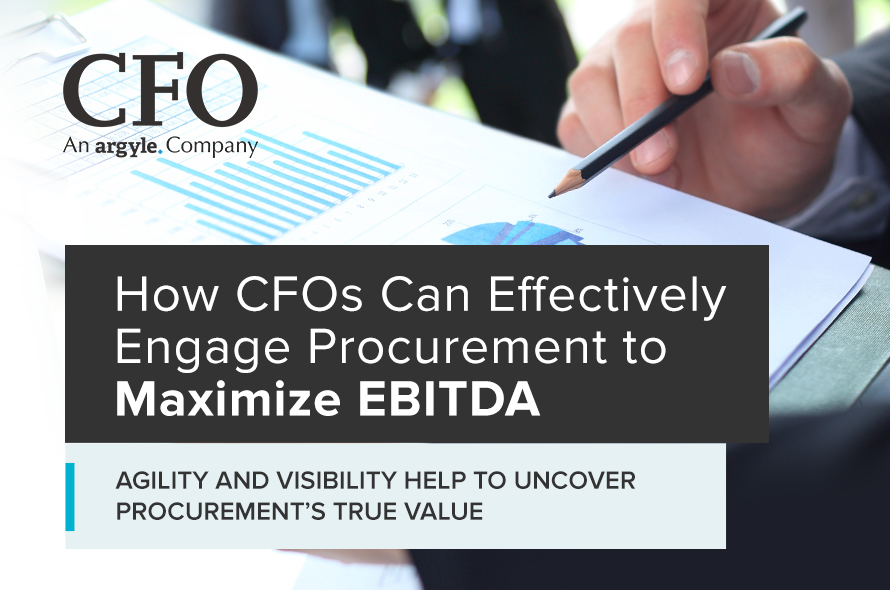 How Cfos Can Effectively Engage Procurement to Maximize Ebitda