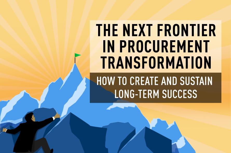 The Next Frontier in Procurement Transformation