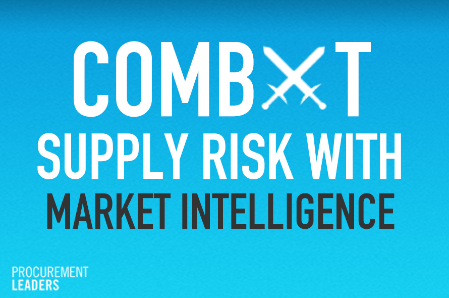 Combat Risk with Supply Market Intelligence