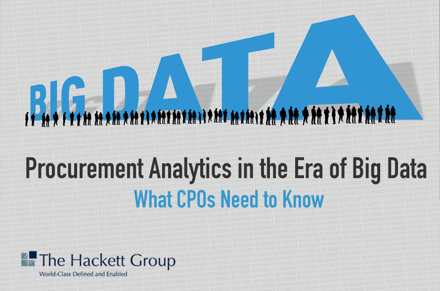 Procurement Analytics in the Era of Big Data: What CPOs Need to Know