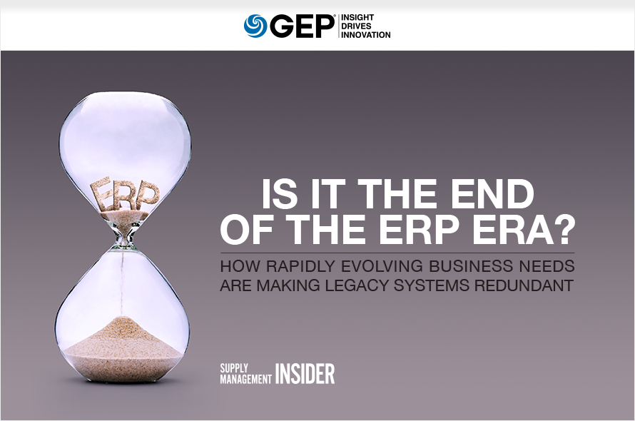 Is It the End of the ERP Era?