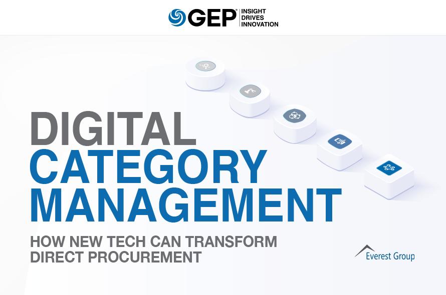 Digital Category Management: How New Tech Can Transform Direct Procurement