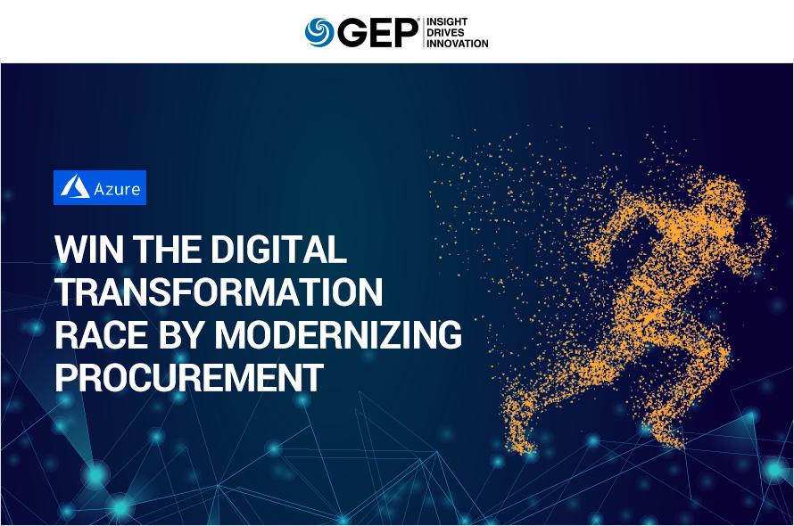 Win the Digital Transformation Race by Modernizing Procurement