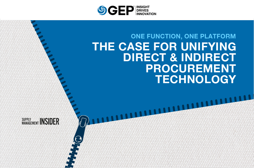 One Function, One Platform: The Case for Unifying Direct & Indirect Technology