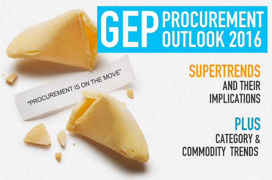 GEP Procurement Outlook Report 2016