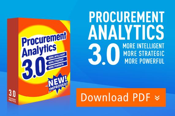 Procurement Analytics 3.0 – More Intelligent, More Strategic, More Powerful