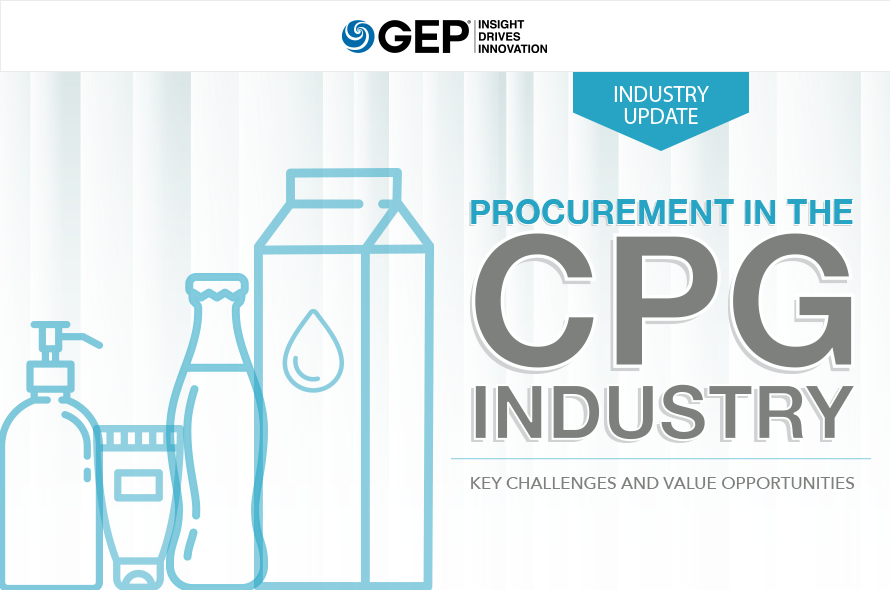 Procurement in the CPG Industry: Key Challenges and Value Opportunities