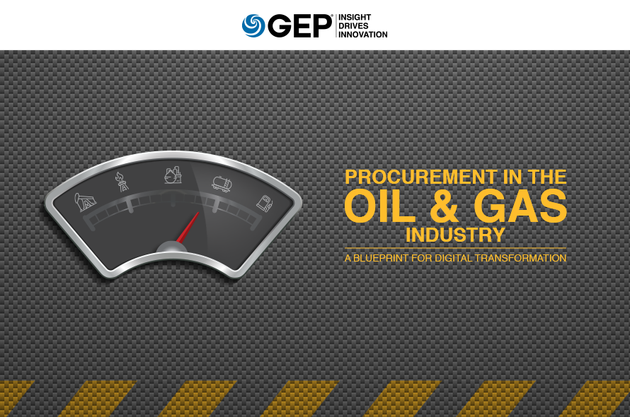 Procurement in the Oil & Gas Industry: A Blueprint for Digital Transformation