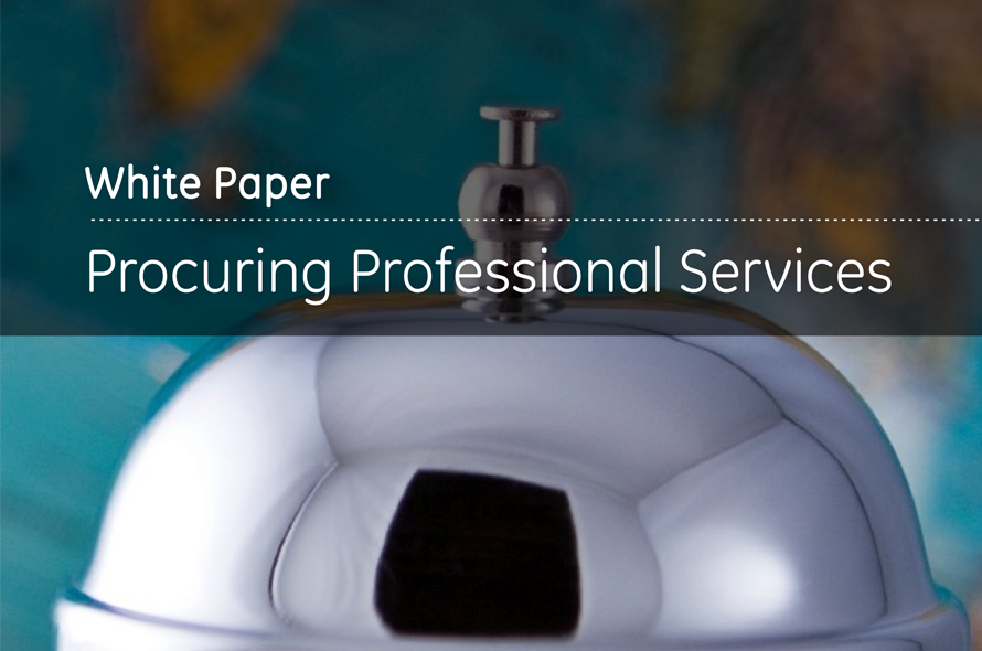 Procuring Professional Services Reducing spend, with a deft touch