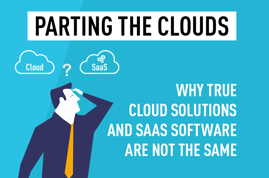 Parting the Clouds: Understanding the Difference Between Saas and Cloud-Native Technology
