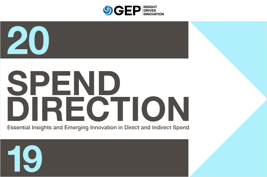 SPEND DIRECTION: Actionable Insights for Critical Direct and Indirect Spend Categories