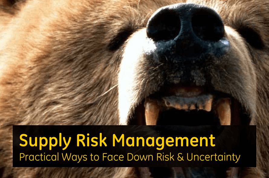 Supply Risk Management – Practical Ways to Face Down Risk and Uncertainty