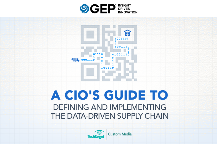 Guide to Defining and Implementing the Data-Driven Supply Chain