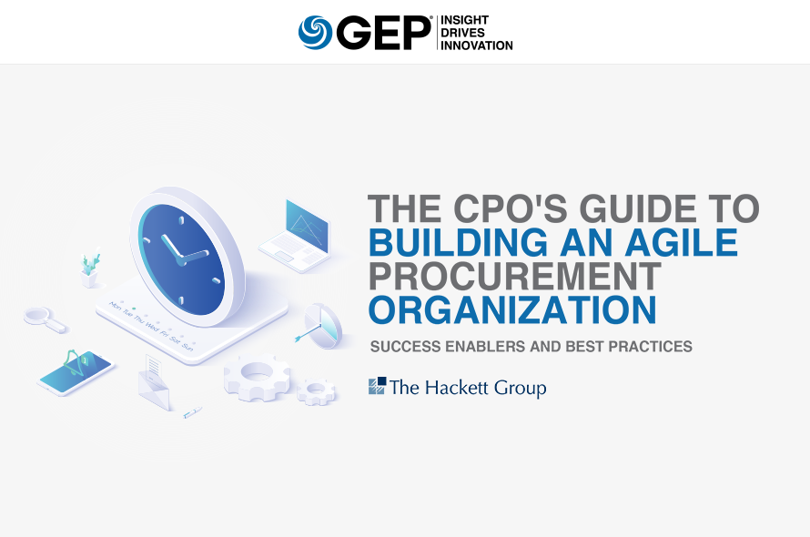 The CPO's Guide to Building an Agile Procurement Organization