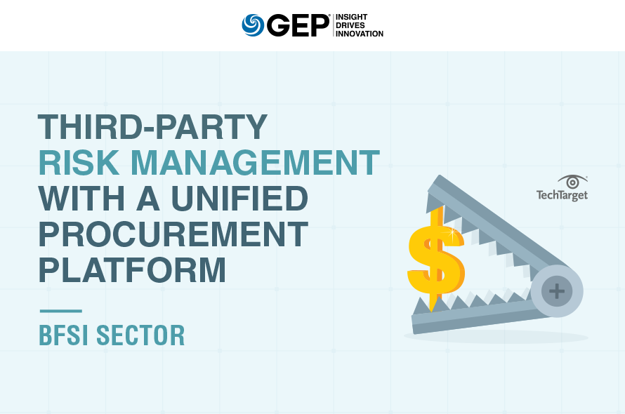 Digital Procurement Transformation in Financial Institutions: Optimizing Third-Party Risk Management with a Unified Procurement Platform