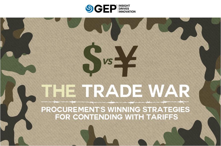 Trade War: Procurement's Winning Strategies for Contending with Tariffs