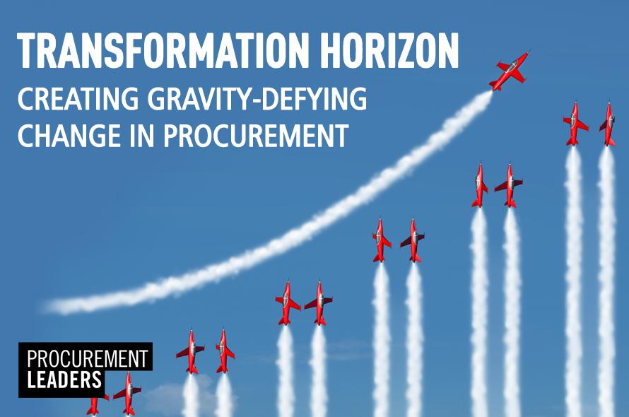 Transformation Horizon: Creating Gravity-Defying Change in Procurement