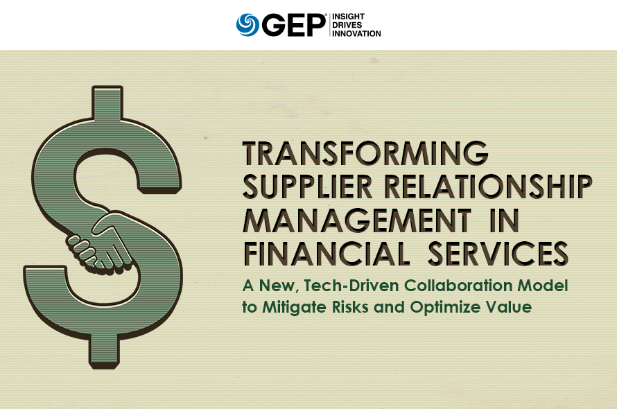 Transforming Supplier Relationship Management in Financial Services